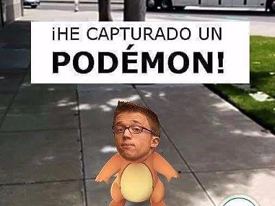 He capturado un Pokemon!