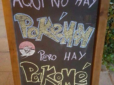 Aquí no hay Pokemon