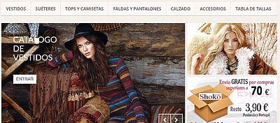 Shokomoda.com, una tienda de venta on line de ropa y complementos para mujer
