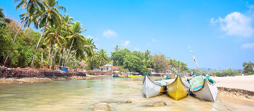Playas de la India-Kerala