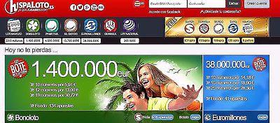Hispaloto lleva más de 12 años repartiendo premios de lotería en la red