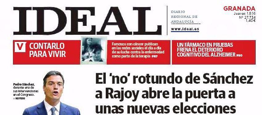 Ideal se consolida como un referente de Granada, Jaén y Almería