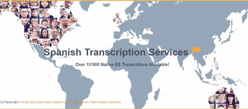GoTranscript.com: Tu mejor opción para realizar transcripciones y traducciones.
