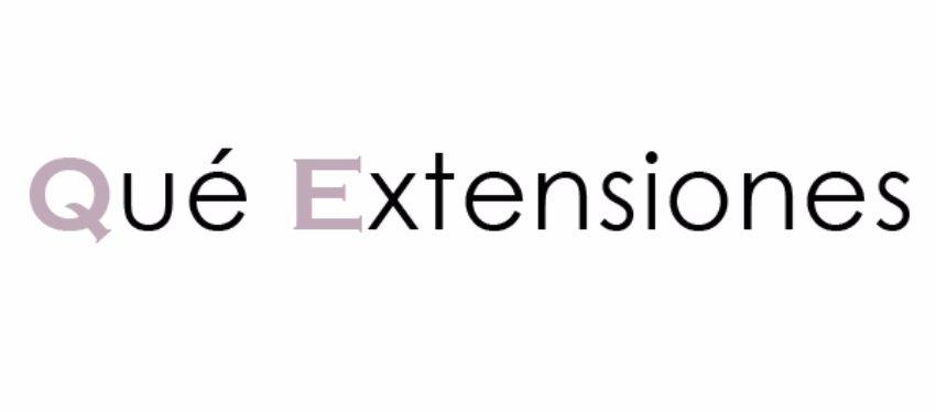 Qué Extensiones
