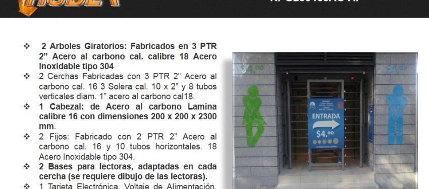 Torniquetes de Mexico Rodea