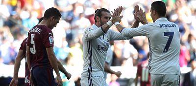 El Eibar volvió a dar la sorpresa ante el Real Madrid, que empató por cuarta vez consecutiva. Foto: Marca.