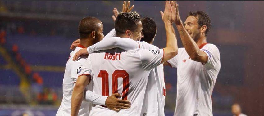 El Sevilla atraviesa un momento de dulce en este comienzo de temporada. Foto: @butacondelgarci.