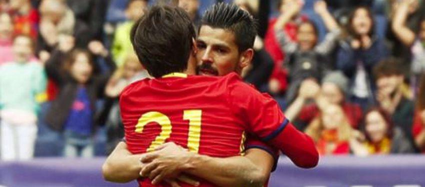 Nolito con España durante esta Eurocopa | Foto. |@rccelta_oficial