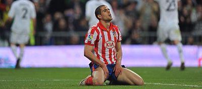 Álvaro Domínguez, en su etapa en el Atlético de Madrid. Foto: @carrusel.