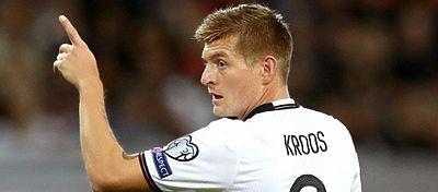 Kroos dejó su sello en la victoria de Alemania ante la República Checa. Foto: Real Madrid.