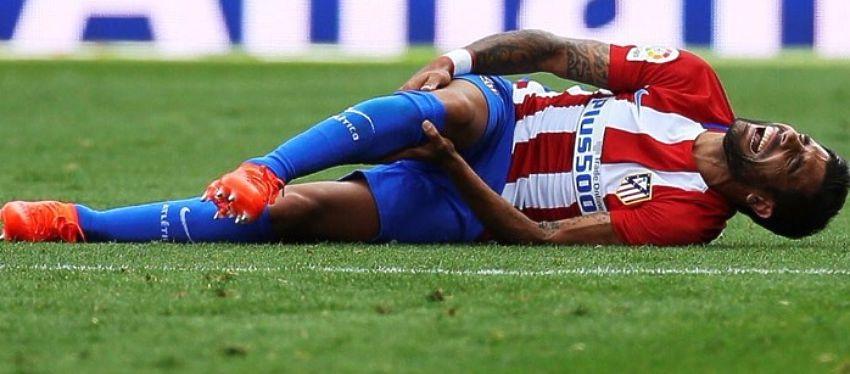 Augusto estará al menos seis meses sin volver a pisar un campo de fútbol. Foto: Twitter.