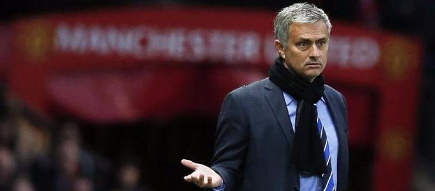 Mourinho no está teniendo un regreso del todo feliz a la Premier. Foto: Twitter.