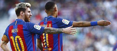 El CTA respalda a Undiano Mallenco y considera legal el gol de Messi ante el Valencia. Foto: Twitter.