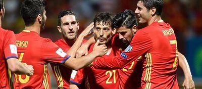 España espera seguir sumando y mantener el liderato del grupo G. Foto: @uefacom_es.