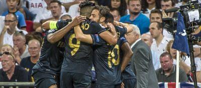 Los jugadores del Mónaco celebran un gol |Foto: @AS_Monaco