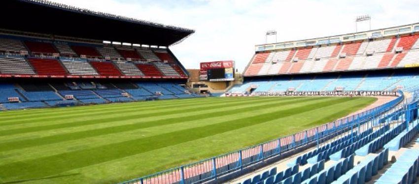 El Vicente Calderón verá esta temporada los últimos goles de su historia. Foto: Twitter.