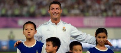 Cristiano Ronaldo, la última estrella en ser tentada por el fútbol chino. Foto: @tjcope.