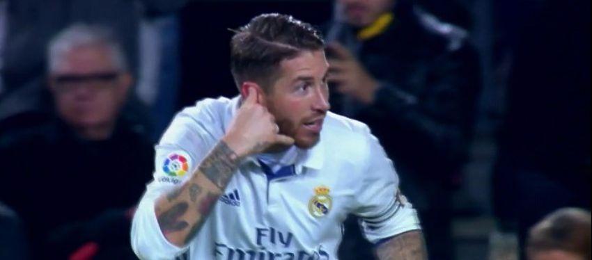 El defensa andaluz volvió a acudir a la llamada del Madrid en el descuento. Foto: Twitter.