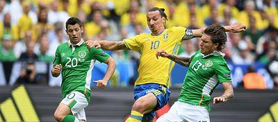 Irlanda - Suecia | Foto: @SueciaSeleccion