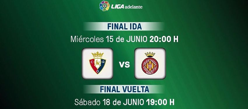 Cartel anunciando partido CA Osasuna - Girona FC | Foto: Twitter
