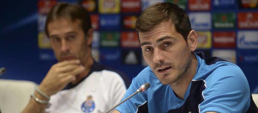 Rueda de prensa en el Oporto de Julen Lopetegui e Iker Casillas |Foto Youtube