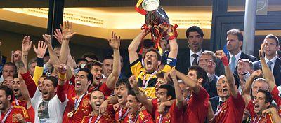 Eurocopa 2012 conseguida por España | Foto: Twitter