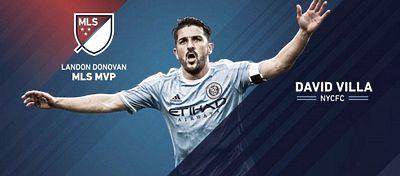 David Villa es el primer español en lograr un trofeo individual en la MLS. Foto: Twitter.