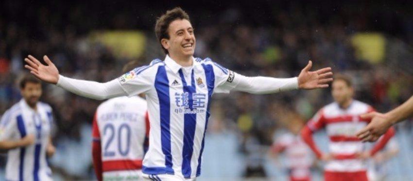 Mikel Oyarzabal, de la Real Sociedad, será una de las sensaciones del próximo año. Foto: LaLiga.