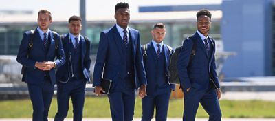 Selección Inglesa | Foto: Twitter