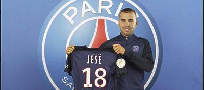 Jesé Rodriguez con la camiseta que lucirá e el PSG | Foto: Twitter