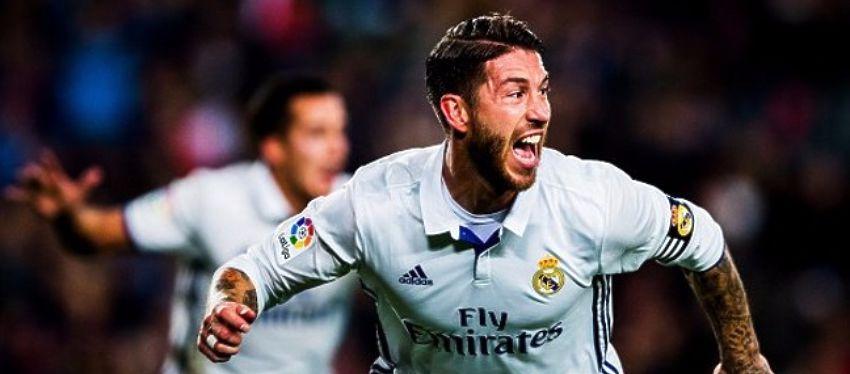 Sergio Ramos materializó la remontada ante un Deportivo que puso en muchos aprietos al Madrid. Foto: Twitter.