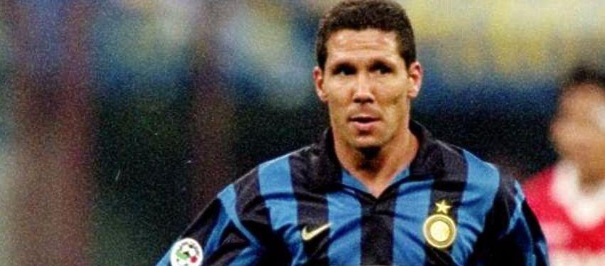 Diego Pablo Simeone militó en el Inter de Milan durante dos temporadas (97-98 y 98-99). Foto: Twitter.