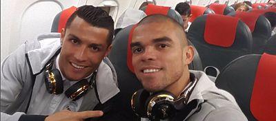 Cristiano Ronaldo y Pepe debutarán mañana en la Eurocopa ante Islandia a las 21:00 horas. Foto: Instagram.