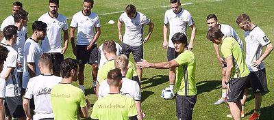 Sesión de entrenamiento selección de Alemania | Foto: Twitter DFB_Team