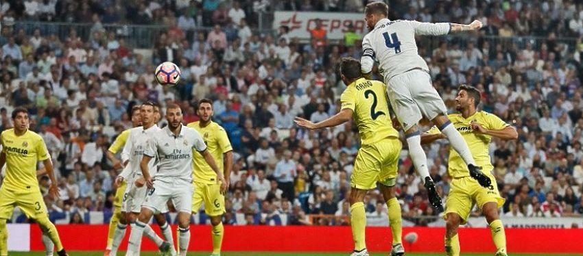 Sergio Ramos puso el 1-1 en el marcador pero no fue suficiente para encarrilar la victoria. Foto: Real Madrid.