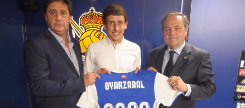 Mikel Oyarzabal | Foto: @RealSociedad