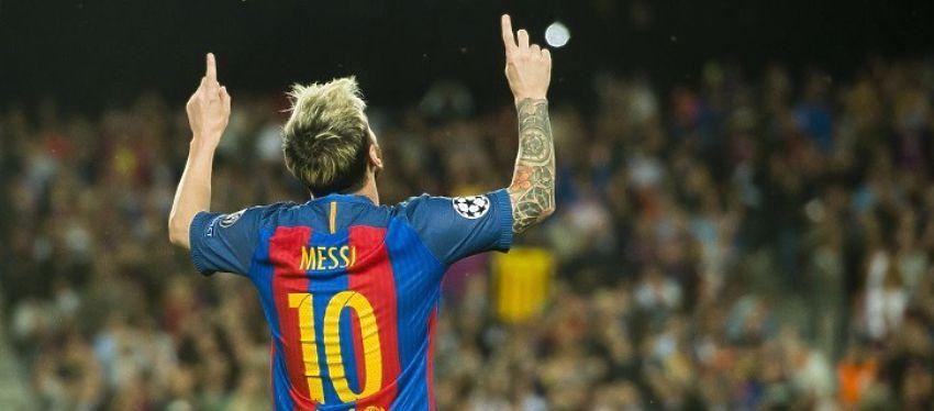 En Barcelona esperan que Messi sea azulgrana hasta el día de su retirada. Foto: Twitter.