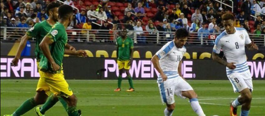 Uruguay - Jamaica | Foto: @Uruguay