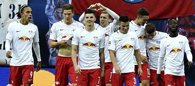 El líder de la Bundesliga se ha convertido en una de las sensaciones del fútbol europeo. Foto: AFP.