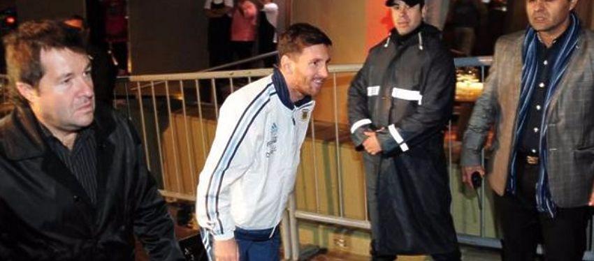 El avión en el que voló Messi hace unas semanas fue el mismo que se estrelló hoy en Colombia. Foto: Twitter.