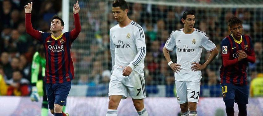 Imagen de un Barça-Madrid. Foto: @nolosabiasfut.