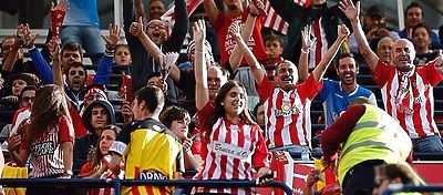 Aficionados del Girona CF