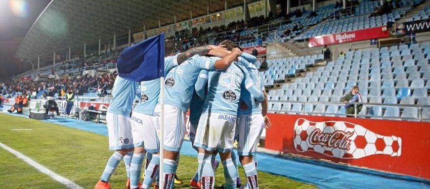 El Celta de Vigo celebra un gol ante la ausencia de público. Foto: SportYou,