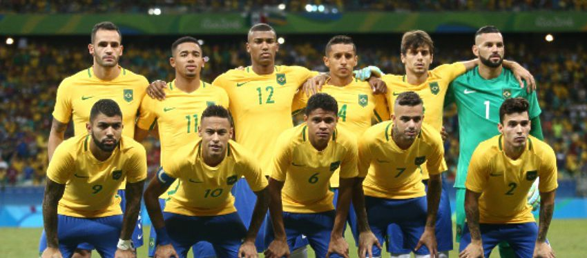 Selección de Brasil |Foto: @CBF_Futebol