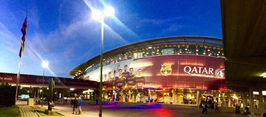 El Camp Nou vivirá esta temporada el primer gran duelo del año. Foto: @lluisflaquer.