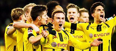 Atracón de goles en el Borussia-Legia