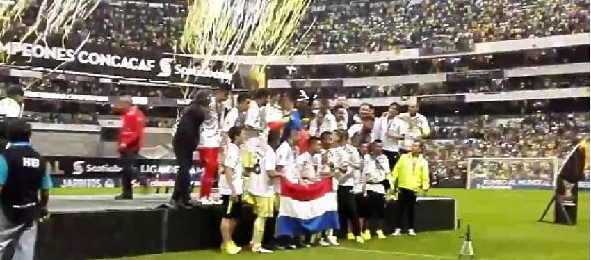 Foto: Club América de México - Campeón Concacaf