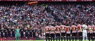 El Athletic de Bilbao es el tercer equipo que más seguidores acumula por partido. Foto: @colgritagol.