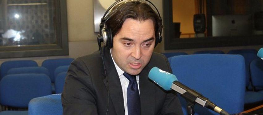Martín Presa, en una entrevista con la Cope. Foto: Twitter.