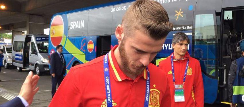 De Gea será titular con España en el partido de hoy | Foto: Twitter